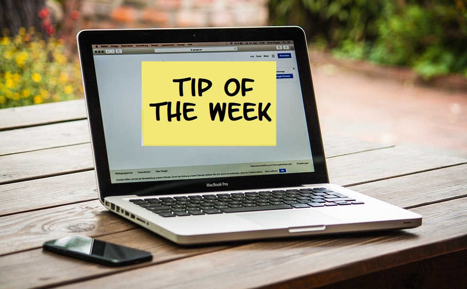 Tip Of The Week: Create Your Own Website