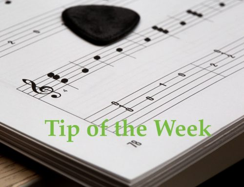 Tip of the Week: Remember when submitting tracks you are asking to play your track as it is.