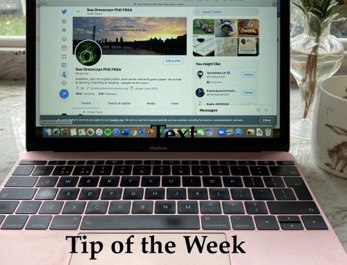 Tip of the Week: Study how others use on-line platforms